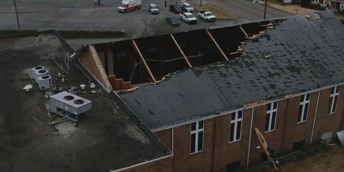 Birmingham pastor is optimistic despite tornado damage; says the Gospel will be preached regardless