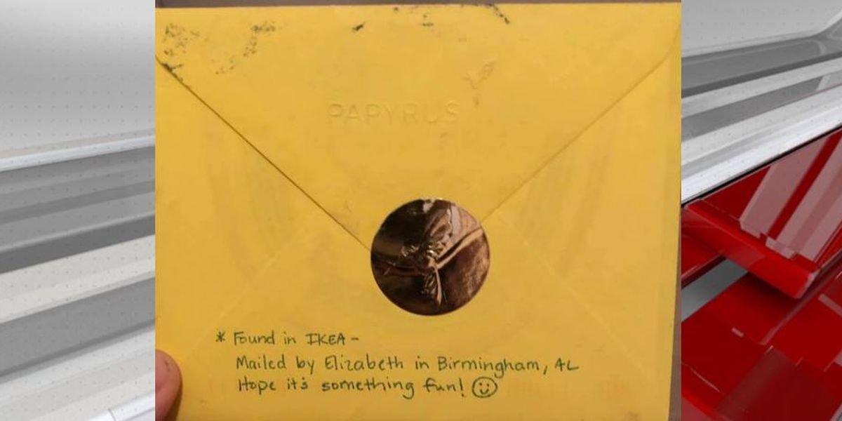 INSPIRING: Lost encouragement card makes its way to Tenn. with help from B'ham, Ala. girl