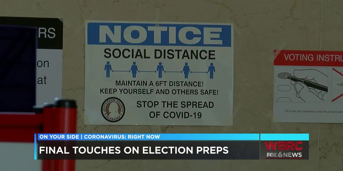 Runoff election preps for COVID-19