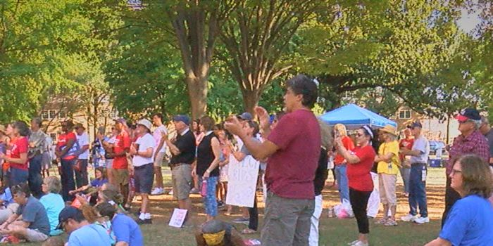 Dozens rally in Birmingham for stiffer gun laws