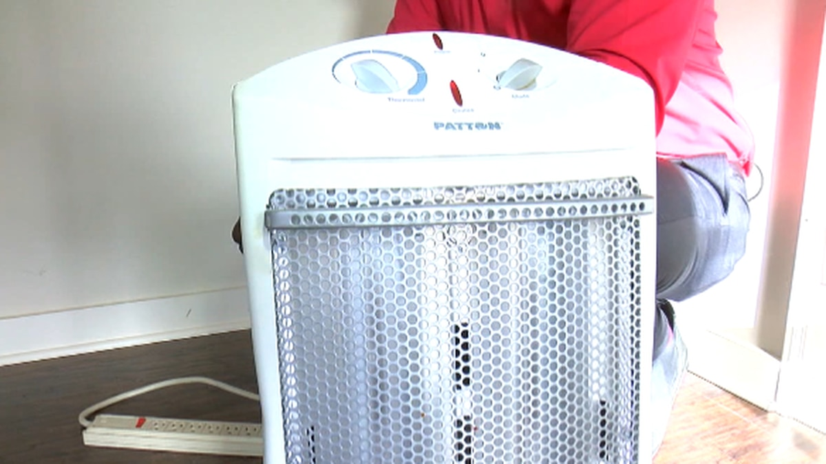 Safety tips for using a portable space heater