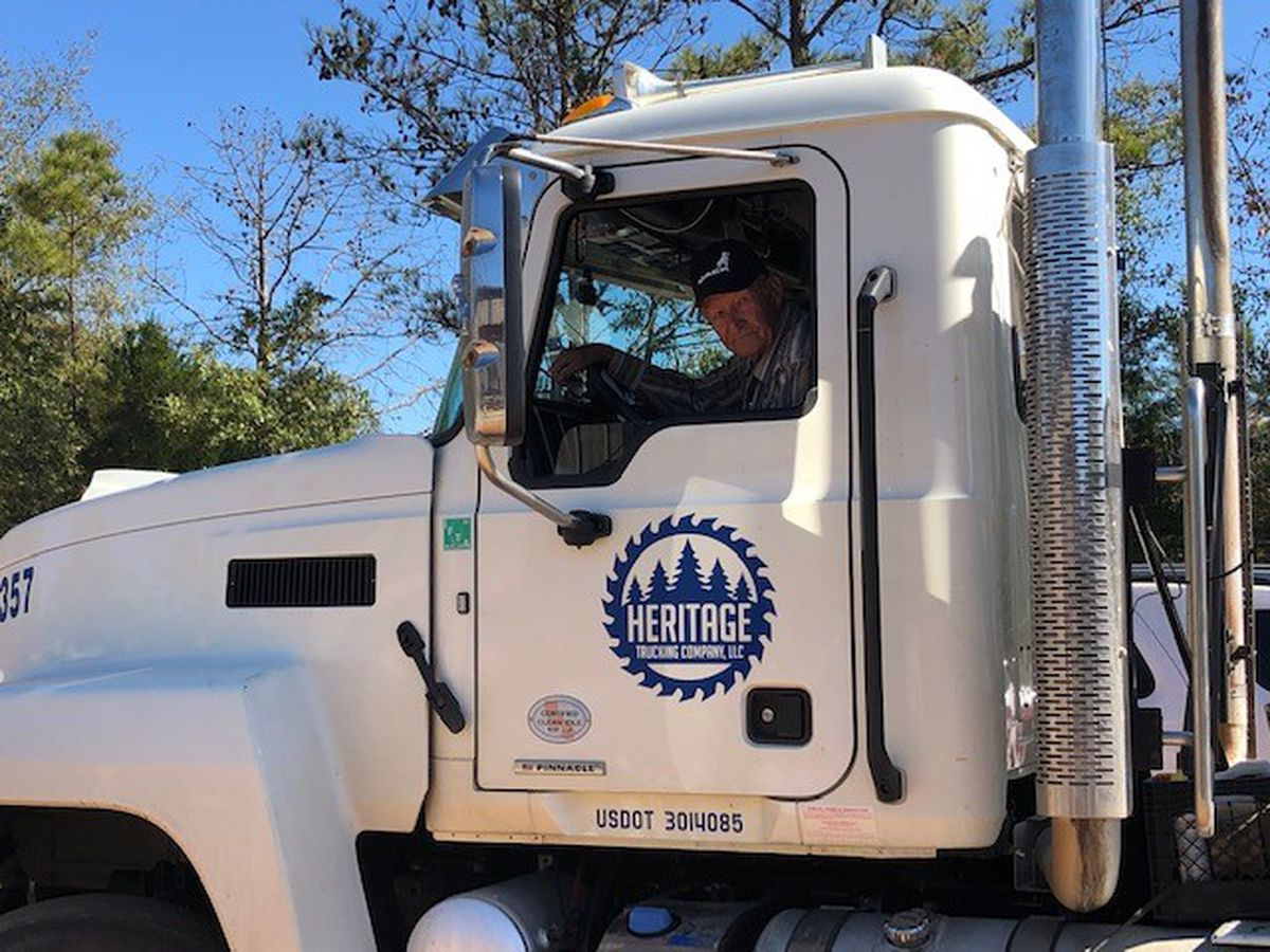 For Alabama trucker driving 69 years, it's been quite a ride