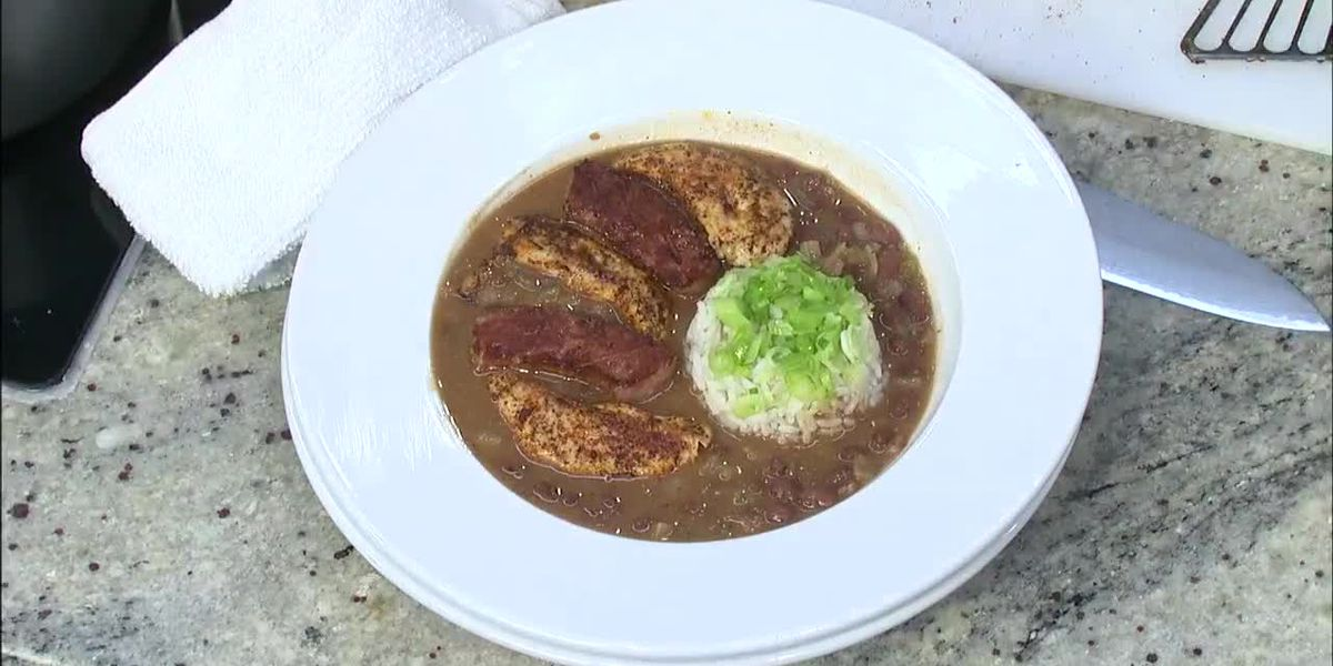 Wintzell's Oyster House: Red beans and rice