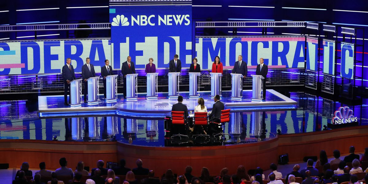 AP FACT CHECK: Claims from the 1st Democratic debate