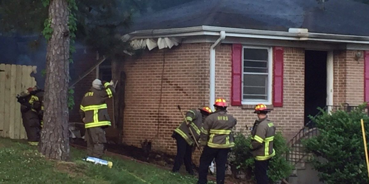 Vacant house catches fire in east Birmingham