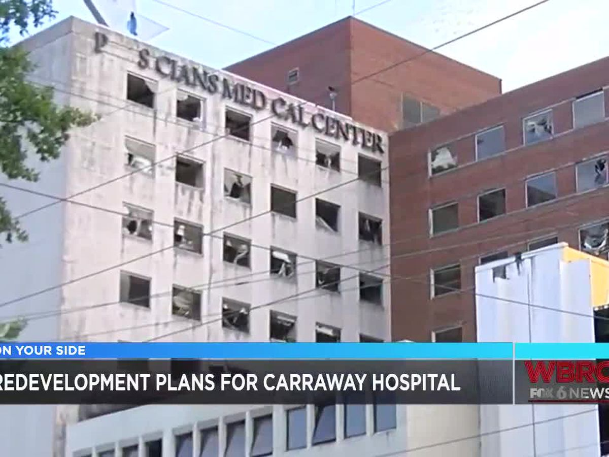 Birmingham firm hopes to redevelop Carraway Hospital property