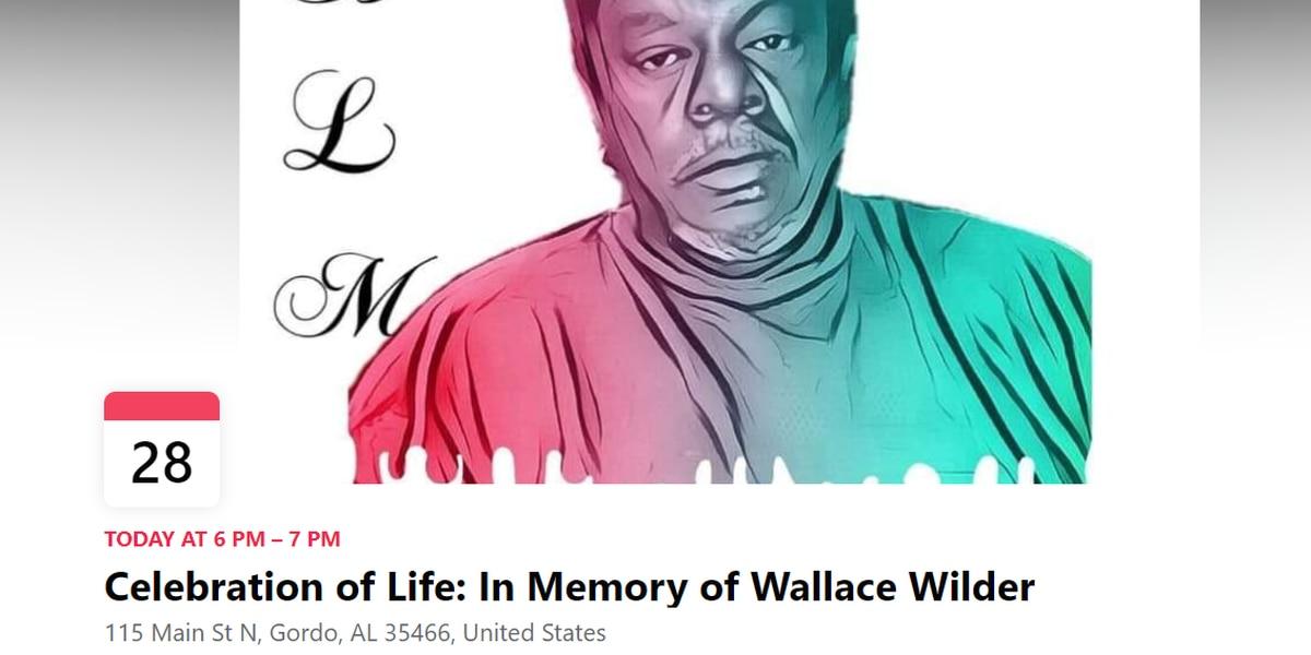 Wallace Wilder celebration of life vigil to happen Friday night
