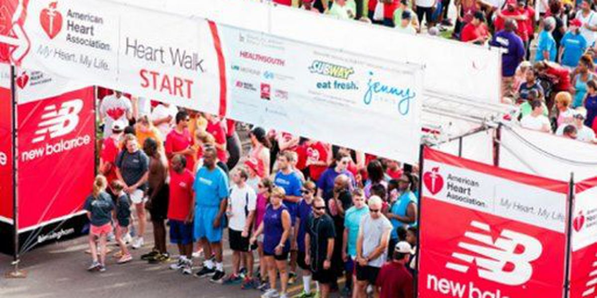 2016 Birmingham Heart Walk set for June 11