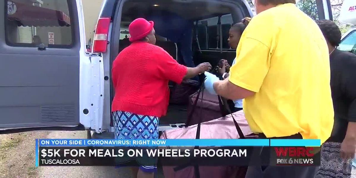 Tuscaloosa County Commission gives $5000 to local Meals on Wheels program