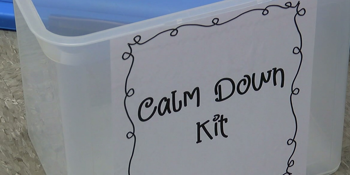 Calming kits help with learning and emotions at Helena Elementary School