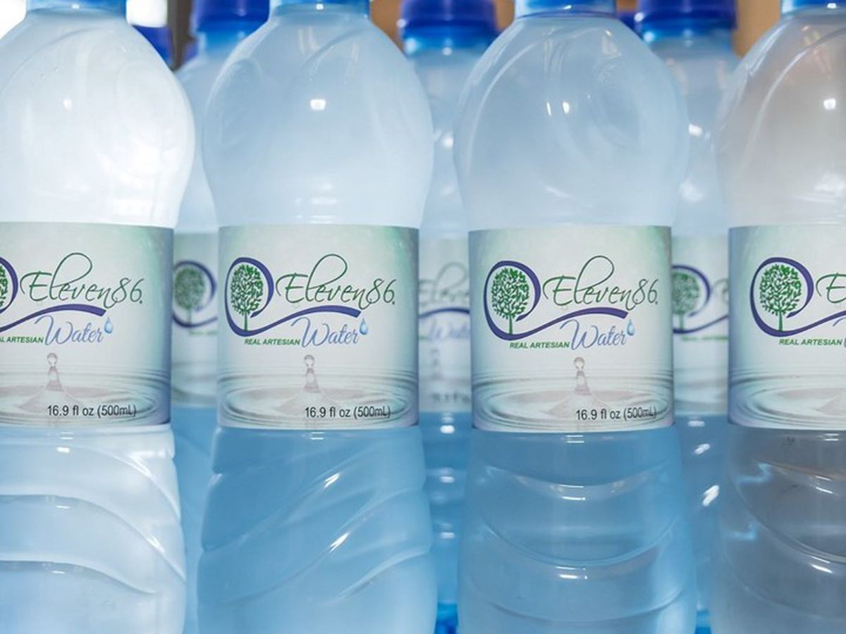 The official state water comes from the Heart Of Alabama