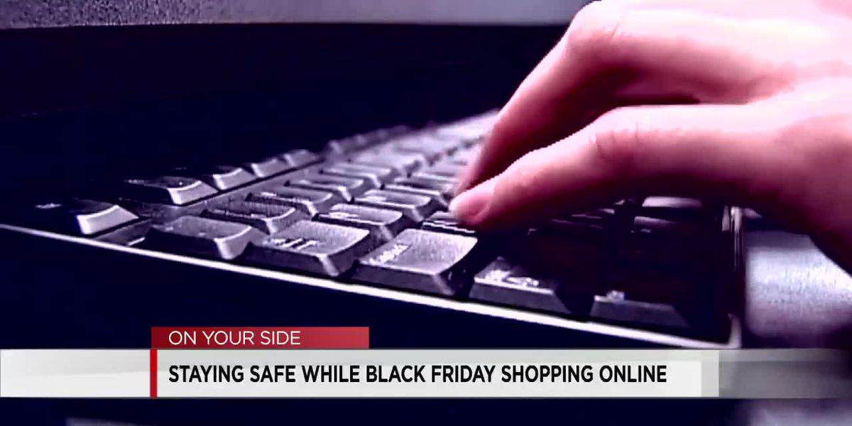 Black friday shopping scam notice