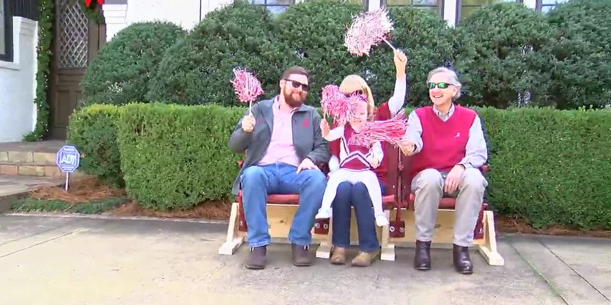 Alabama football fans receive lifelong memory, gift of love