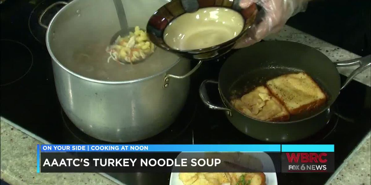 AAATC's turkey noodle soup