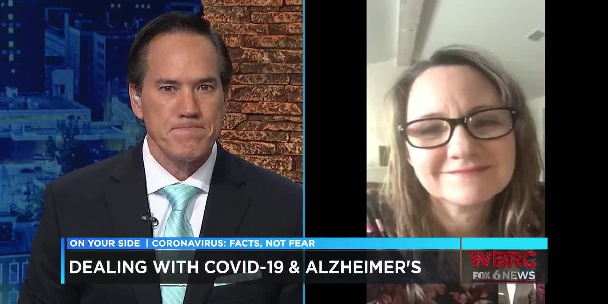 Dealing with COVID-19 and Alzheimer's