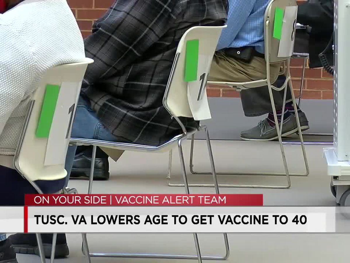 Veterans 40 and up can get vaccinated for COVID-19 at the Tuscaloosa VA Medical Center