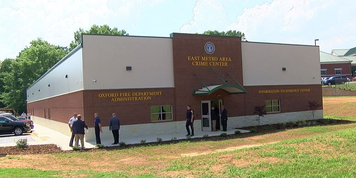 East Metro Area Crime Center now open in Oxford