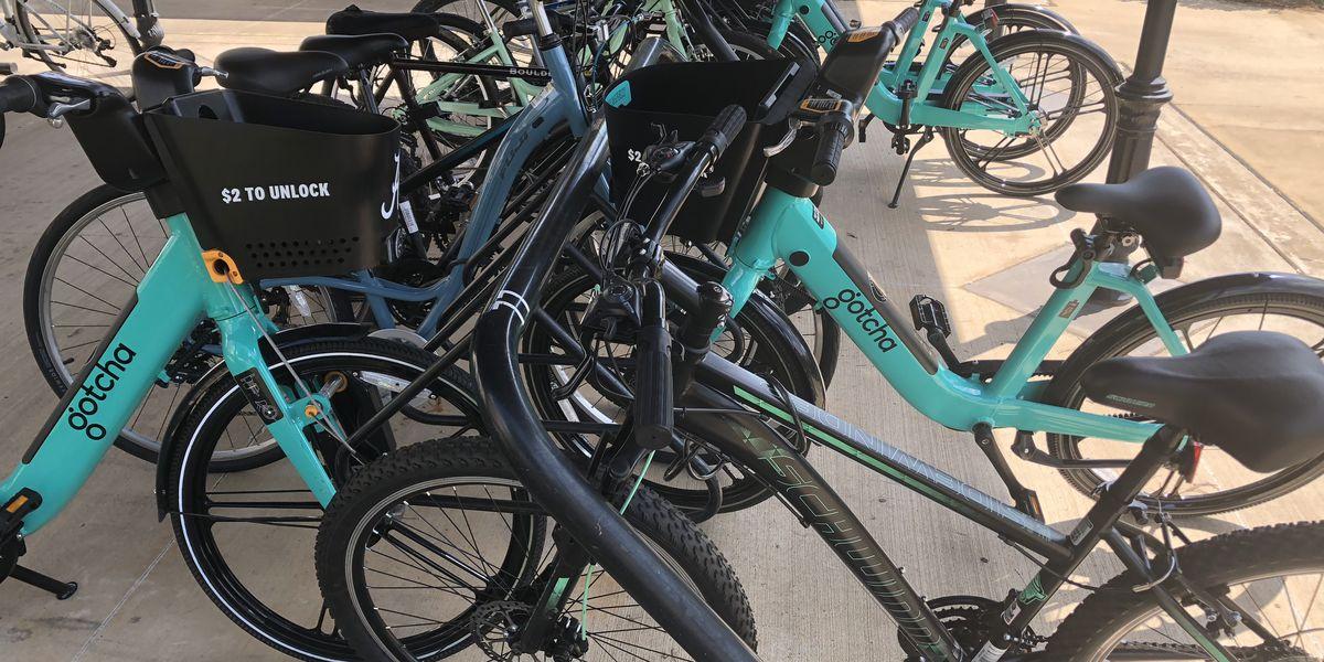 New E-Bike sharing service running at University of Alabama