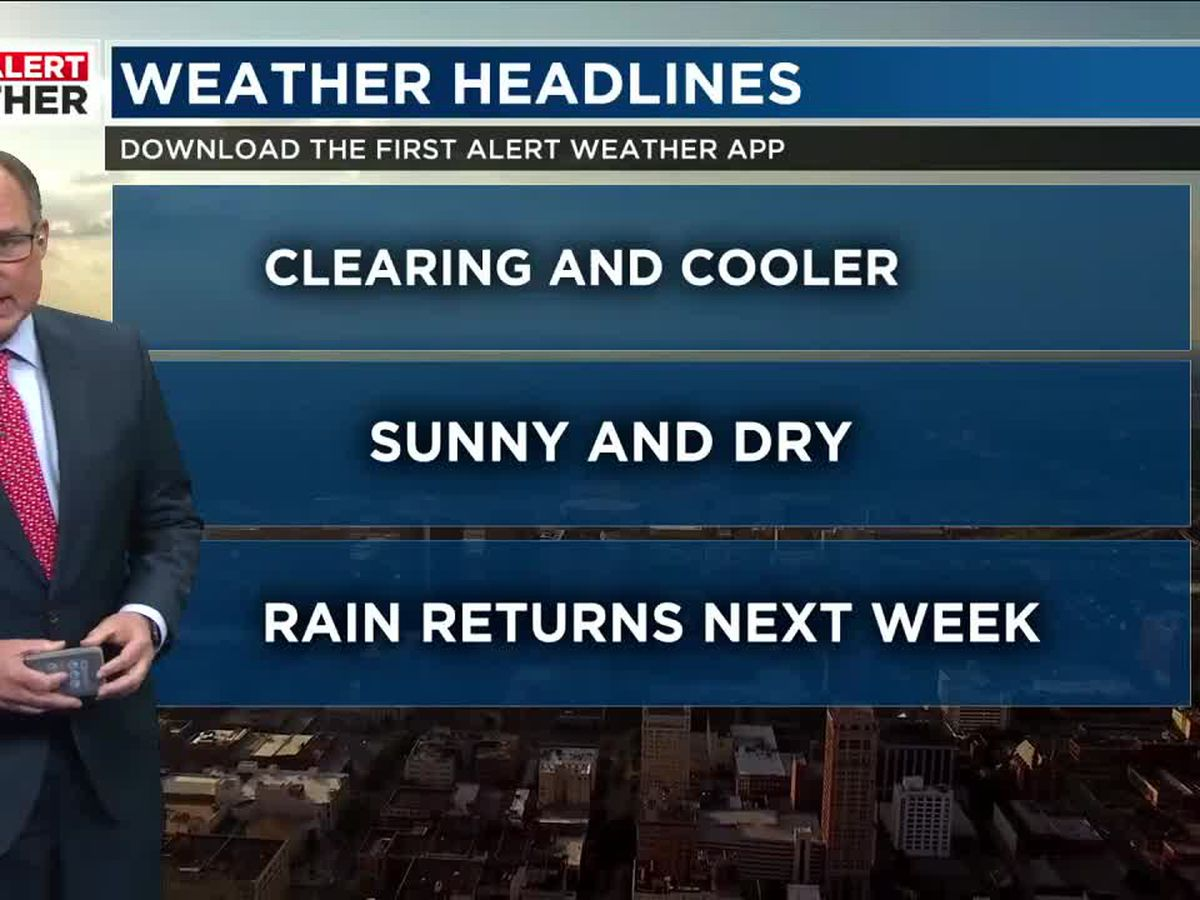 FIRST ALERT: Don't put away the jacket, more chilly mornings ahead