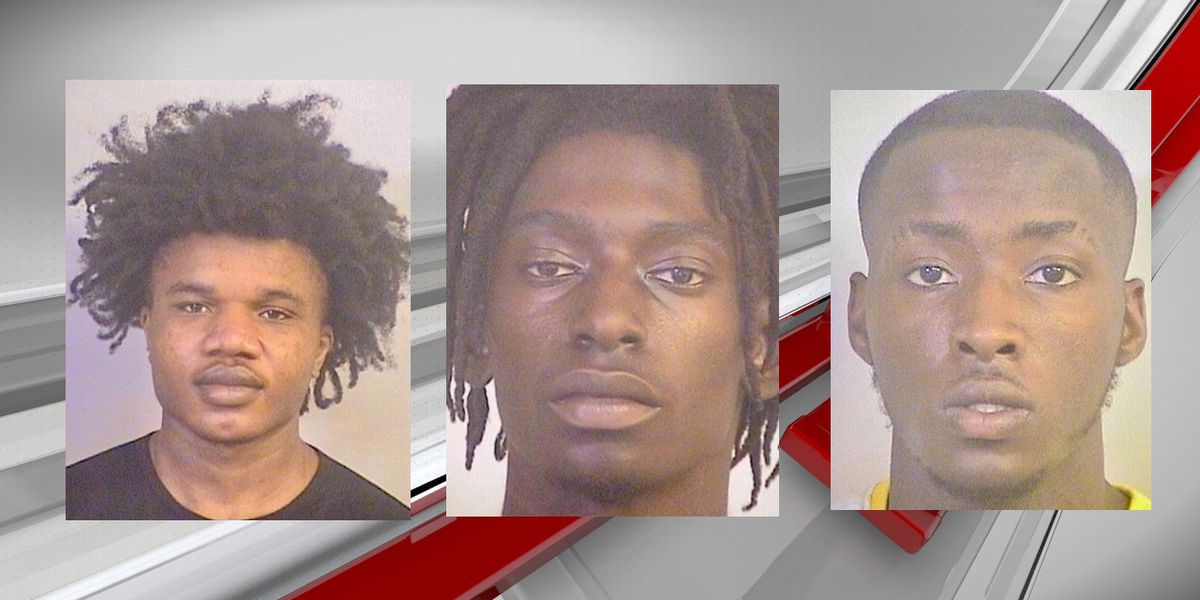 Tuscaloosa PD: Hundreds of machine guns rounds fired in apartment complex; 3 arrested