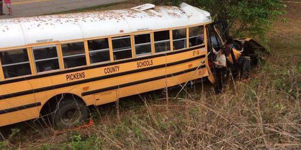 16 hurt in school bus accident and friends remember former Blazer Torrey Ward