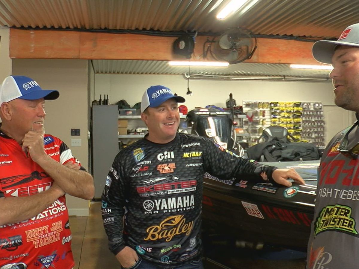 Three local anglers to compete in 50th Bassmaster Classic in Birmingham