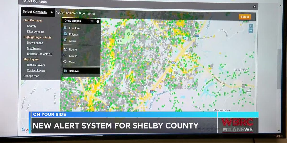 New alert system for Shelby County