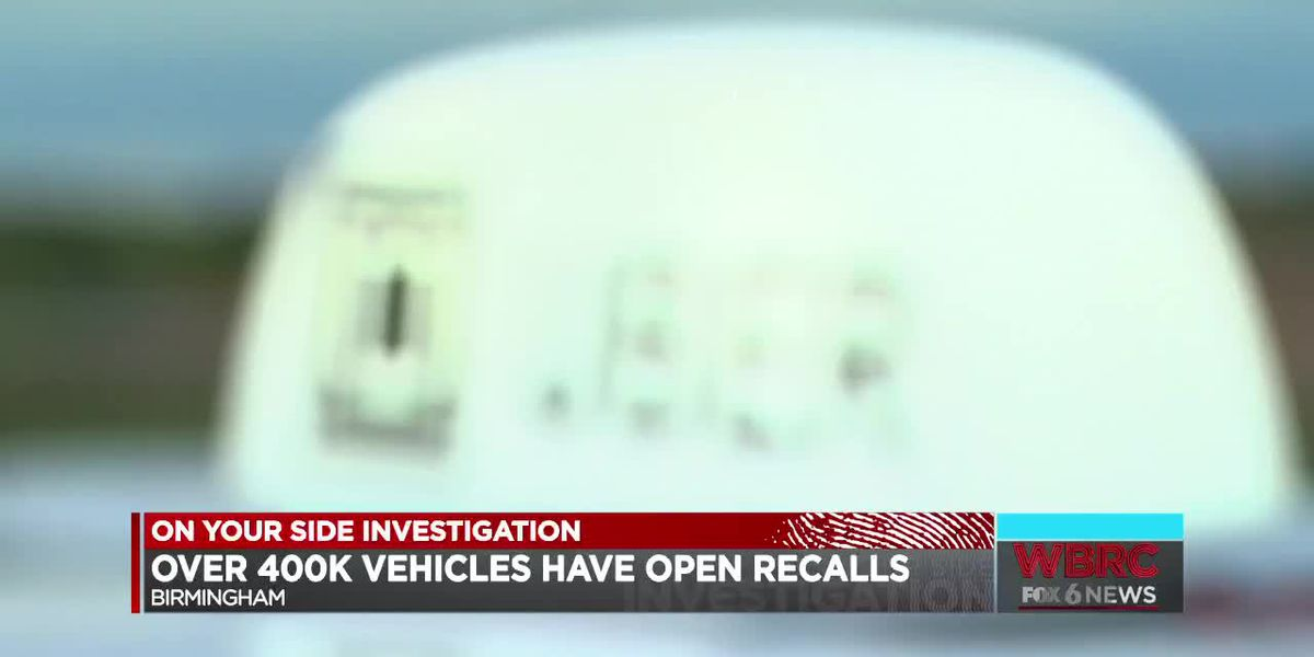 Over 400k vehicles have open recalls