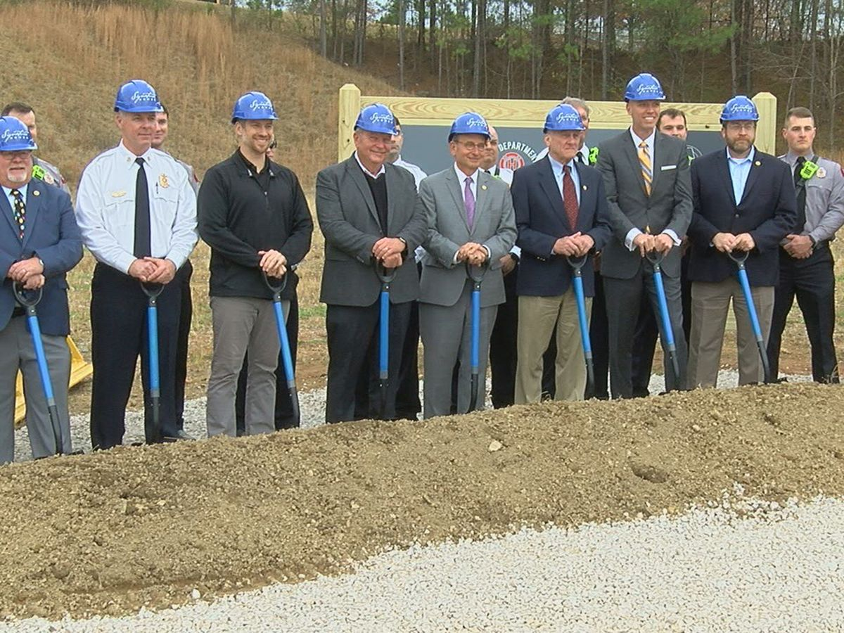 Hoover has groundbreaking for new fire station
