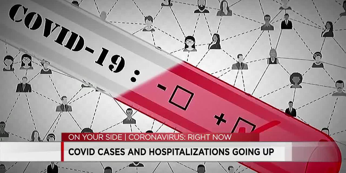COVID cases and hospitalizations going up