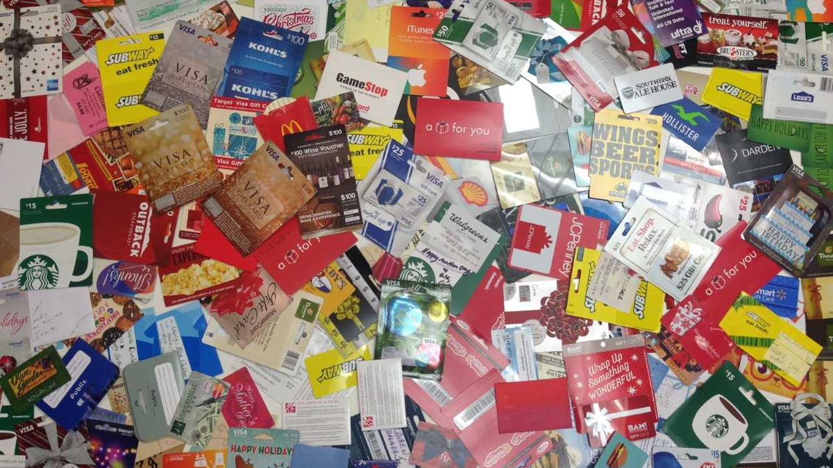 Make sure your gift cards don't get lost in the mail