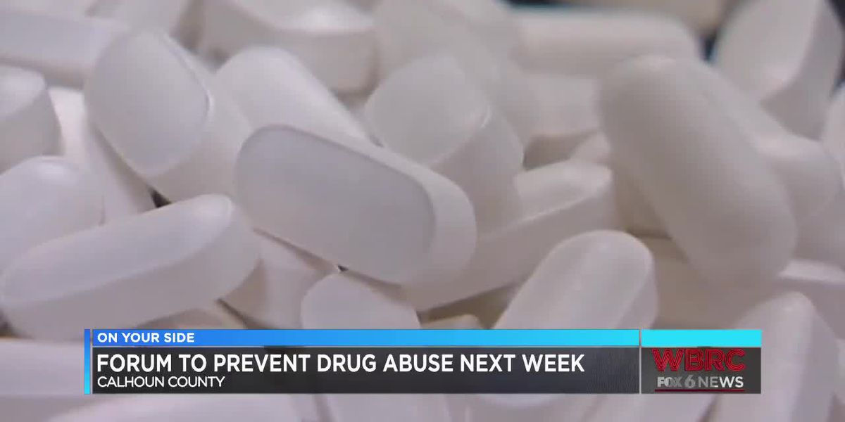 Calhoun Co. forum to prevent drug abuse next week