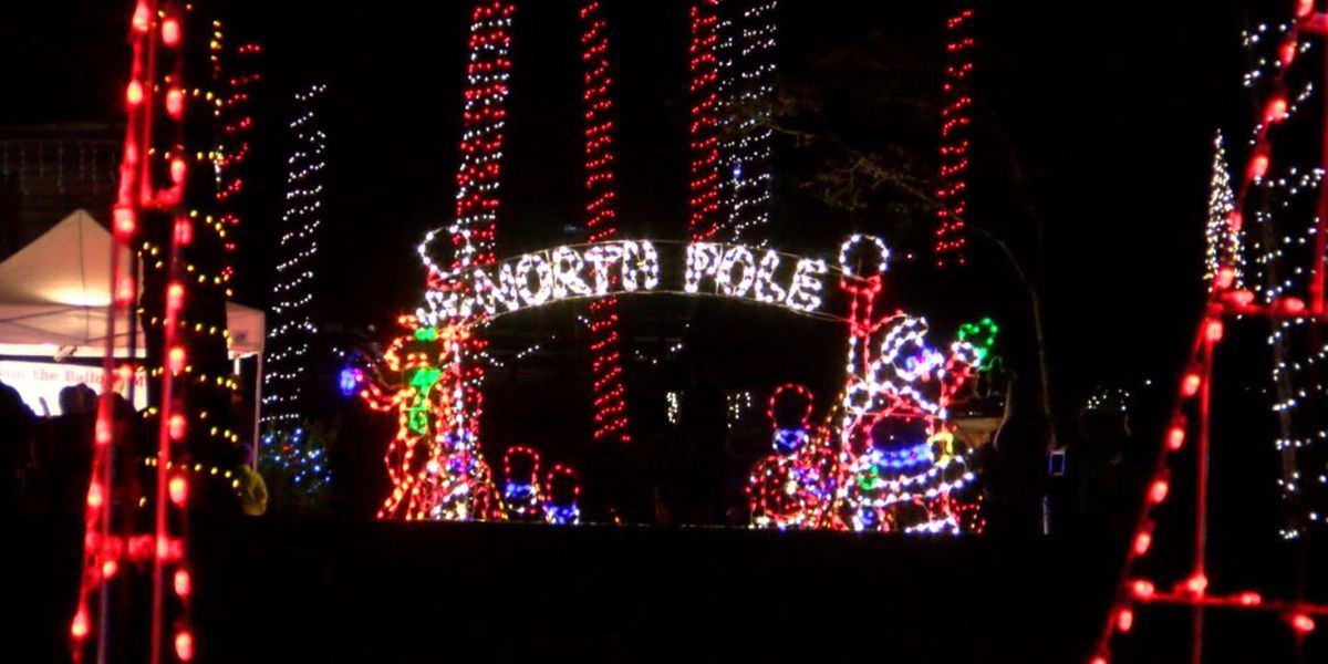 - Noccalula Falls Christmas Light Show Extended
