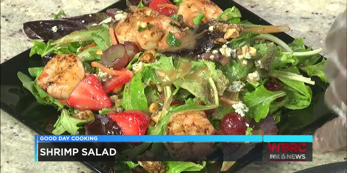 Chef Donnell Johnson: Shrimp Salad