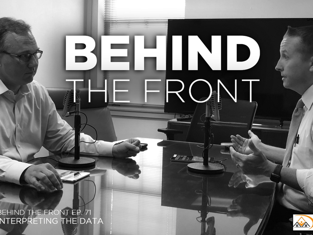 Behind the Front: Interpreting the Data