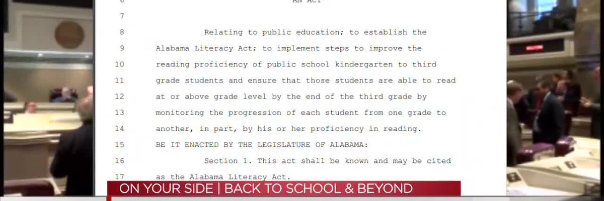 Implementing Alabama's Literacy Act