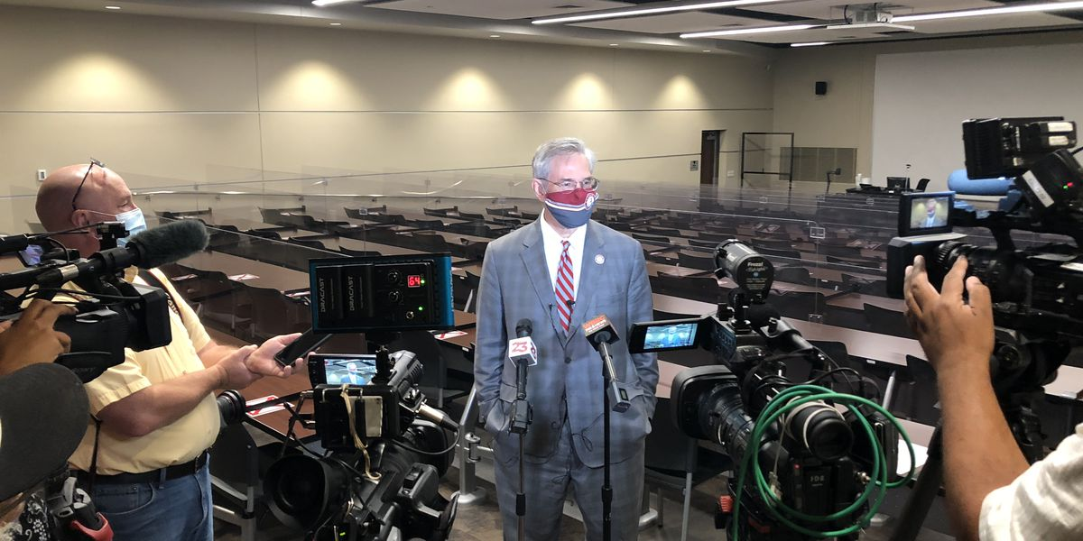 University of Alabama official shows off health and safety upgrades for Fall classes