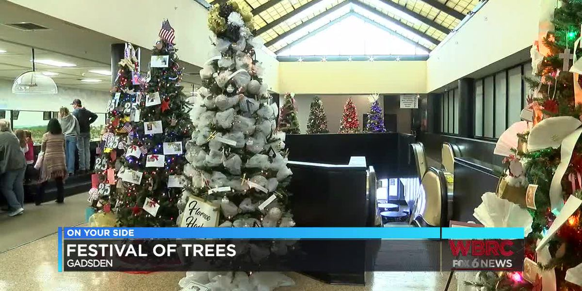 Gadsden's Festival of Trees dedicated to American First Ladies