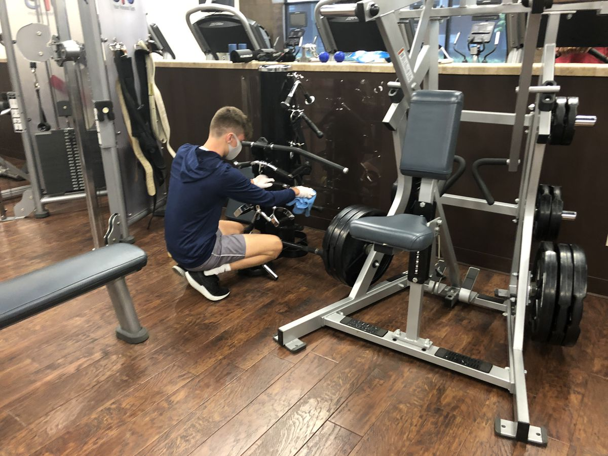 Tuscaloosa fitness center owner says everyone has a hand in cleaning