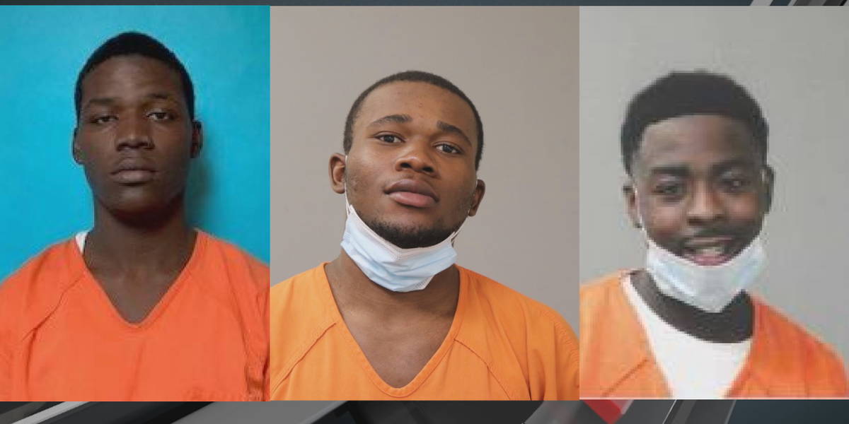 Three arrests in Tuscaloosa hotel car break-ins, carjackings