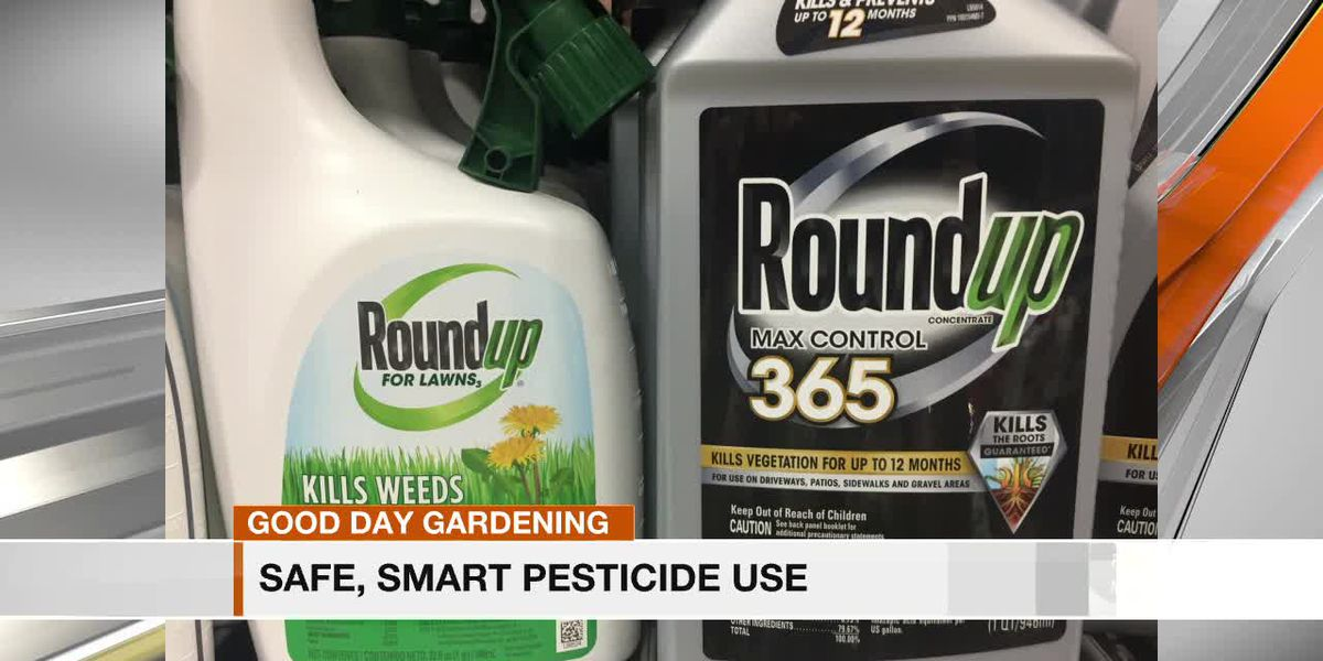 Safe, smart pesticide use