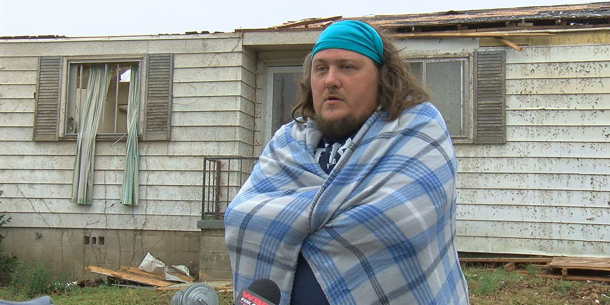 Fultondale man says his parents and God were watching over him during tornado