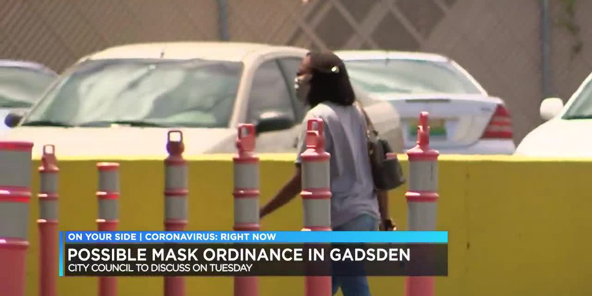 Possible mask ordinance in Gadsden