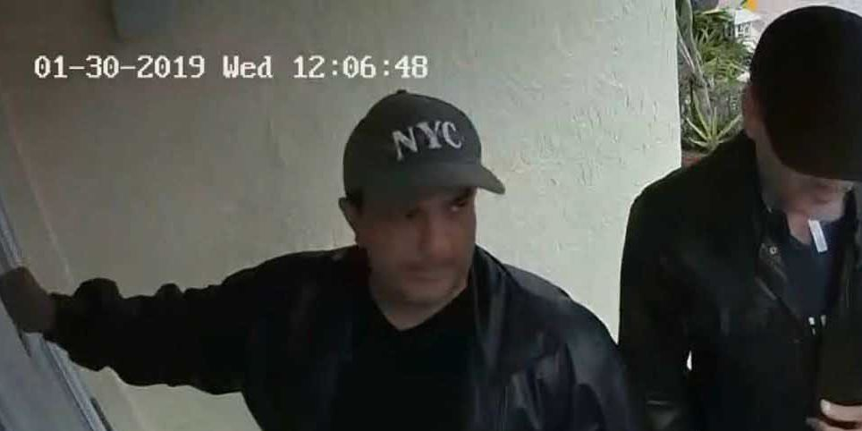 FBI impersonators caught on camera invading FL home