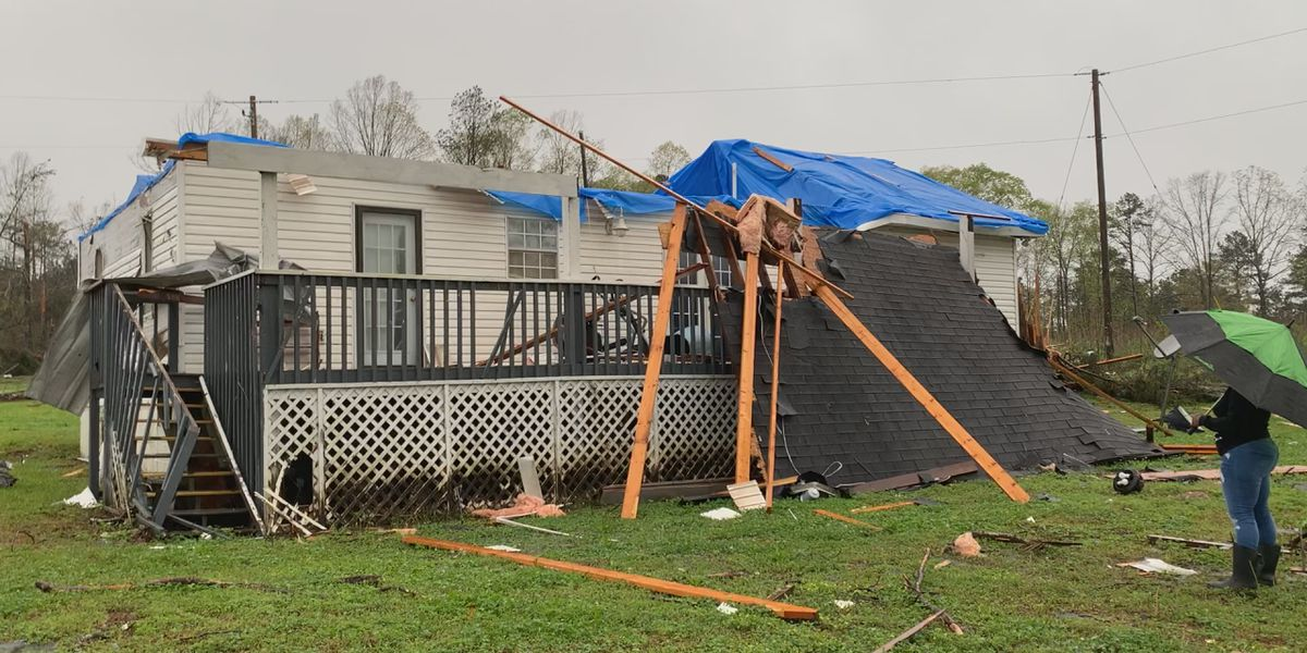 Brierfield woman loses home in last Thursday's tornado