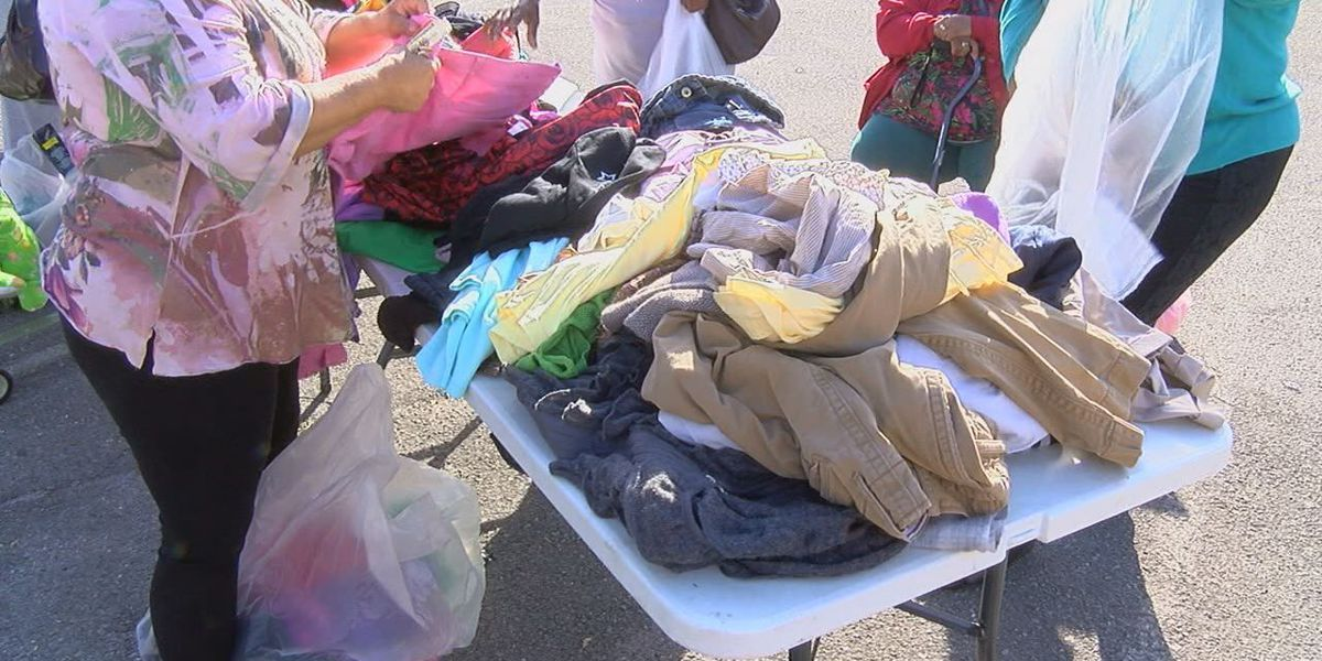 Free Clothing And Food Giveaway In Woodlawn