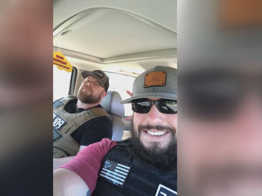 Talladega sheriff's deputy rescues friend from fiery crash