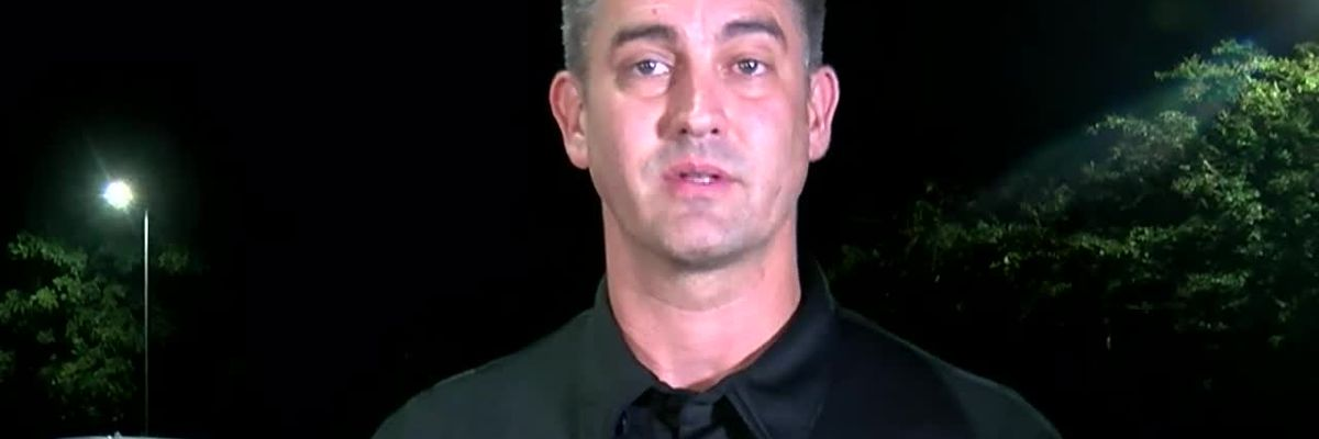 Huntsville Police Lt. Michael Johnson discusses an overnight chase that led to shots being exchanged