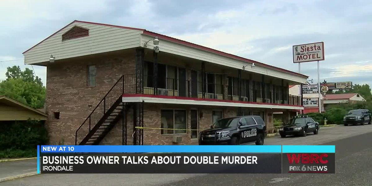 Business owner talks about double murder