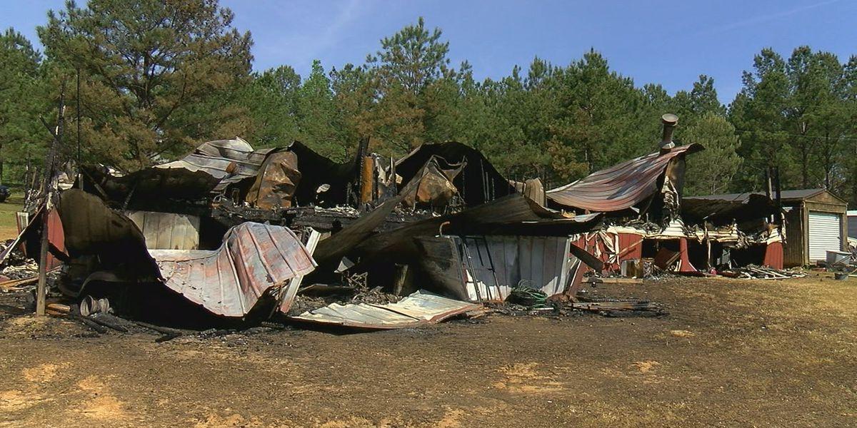 Fire destroys woman's house, fire department blames broken hydrants